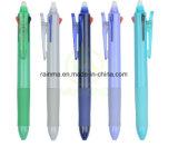 Promotional Good Quality 3 Color Plastic Gel Ink Erasable Ball Pen