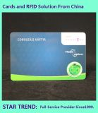 Chain Store Card Made Plastic with Magnetic Stripe for Member