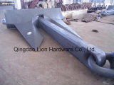 AC-14 Hhp Anchor with ABS/CCS/BV/Nk/Kr/Dnv/Gl/Lr/Rina Certification