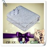 Fleece Polyester Electric Heated Blanket with Over Heat Protection