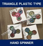 Fidget Toy Hand Spinner Triangle Plastic Type