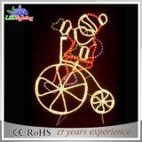 2017 Holiday Christmas Decoration Rope Motif Santa Clause Glittler Light