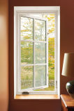 Caribbean Desgin White Color PVC Casement Window