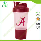 500 Ml High Quality Shaker Bottle with Pill Container