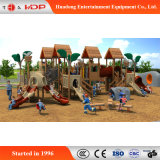 2017 Wooden Children Outdoor Funny Play Slides (HD-MZ019)