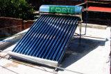 Low Pressure Glass Vacuum Tube Solar Thermal Water Heater
