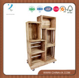 Fruit Crate Display Unit with 6 Crates