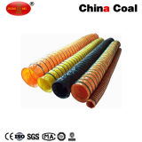 Colorful Negative Pressure PVC Fabric Pipe Flexible Air Ventilation Duct
