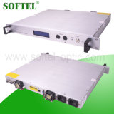 FTTX Pon Optical 1550nm Indoor Erbium-Doped Fiber Amplifier (EDFA) , 17dB Output Optical Power
