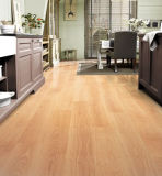 Feather Grain Surface Wood HDF Laminated Flooring (CE)
