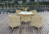 Rattan Table Chair, Garden Table Chair, Outdoor Table Chair, Dining Table Chair, Wicker Table (NC7019)