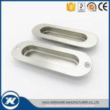 Stainless Steel Oval Flush Hidden Door Pull Handle