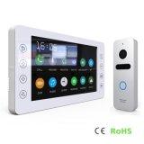 Memory 7 Inches Home Security Intercom Video Door Phone