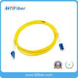 Sm LC-LC Duplex Optic Fiber Cable Fiber Optic