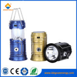 Outdoor Rechargeable LED Camping Lantern with USB/Solar Charging