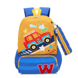 Durable Light Car Cartoon Student Bag Customized School Backpack