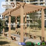 Fence Railing Guangzhou Manufacturer WPC Garden Pergola