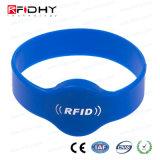 Durable Rubber Silicone Accessc Control Swim Pool RFID Bracelet