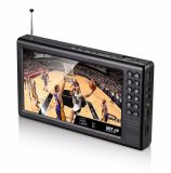 Support All Band FM of DVB-T2/T Portable Video Tvs Player