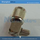 RF Connector TNC Right Angle Male Plug Crimp (TNC-C-JW3)