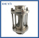 Stainless Steel Sanitary Sight Glass with Protection Sleeve