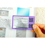 Hw-802A 86*53mm PVC Credit Card Size Magnifier 3X 6X Promotional Credit Card Size Magnifier