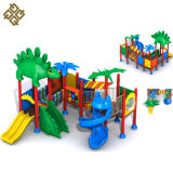 Jurassic Design Colorful Preschool Outdoor Playground Equipment