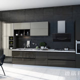 Laminate Board/Wood Grain Laminate Kitchen Cabinets