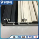OEM 6063 Maple Wood Grain &Grey Color Thermal Break Aluminum Window Sash