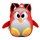 Children′s Backpack 3D School Bag Mochila Escolar Menino Kindergarten School Bags for Girls Small Penguin Knapsack Kids Bag