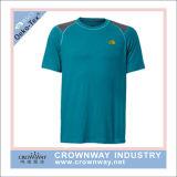 Men Sports Wear Quick Dri T-Shirt with Custom Logo Printing