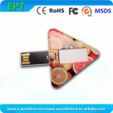 Customized Mini Triangle Credit Card Flash USB Pen Drive (EC043)