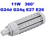 G23 2 Pin LED Lamp 11W LED Pin Light 100-277V Repalce 26W CFL 3 Years Warranty G23 LED Lamp 11W