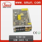 50W AC/DC Power Supply Switching 24VDC 2.1A Single Output