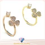 Pretty Women Fashion Jewelry Flower Pattern Ring 925 Sterling Silver Ring R10261