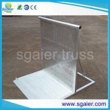 Sgaier Truss Perfect Aluminum Straight Crowd Barrier with Security Platform