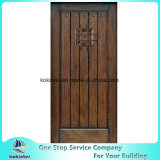 Finished/Prefinished Mahogany Distressed Solid Wood Speakeasy Front Door