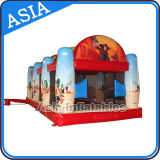 Inflatable Air Blaster Shooting Games Cannon Ball Children Sports