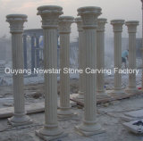 Building Material Handcraft Stone Granite Columns for Home Decoration