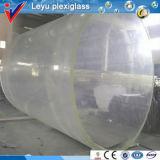 Acrylic Cylinder Big Fish Tank for Hotel