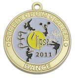 Customized Enamel Antique Gold Silver Copper Sport Metal Medal