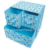 Household Non-Woven 3-Drawer Storage Box (CBP-55)