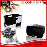 Serial PU Leather Large Capacity Durable Storage Basket