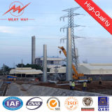 Tapered Galvanized Steel Pole Transmission Tower