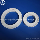 Wholesale Manufacturer CNC Machining PTFE Plastic Ring White Teflon Part