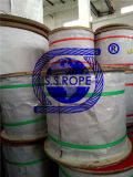 Stainless Steel Wire Rope 1X19 Used as Rigging
