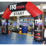 Outdoor Race Inflatable Arch/High Quality PVC Inflatable Arch