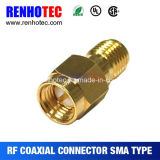 Straight SMA Coaxial Adapter Male to Female SMA Connector