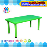 Green Plastic Student Table for Kindergarten (XYH-0010)