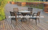 Hot Sales! Brighthome Restaurant Dining Chair and Table Set